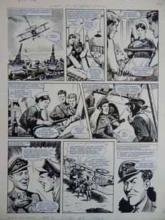 Lacey, Bill - Originele pagina - Eagles over the Western Front - (1973)