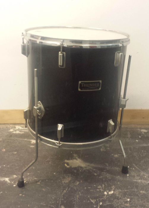 Thunder floor tom black catawiki for 13 floor tom