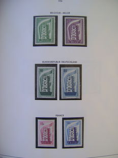 Europa stamps 1956/1985 - Collection CEPT in Davo album