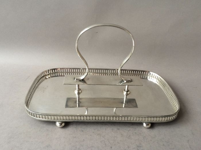 Art Deco Entree Dish Walker Hall England Approx 1925