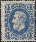 Check out our Belgium 1870 - Leopold II 20 Cent - OBP 31