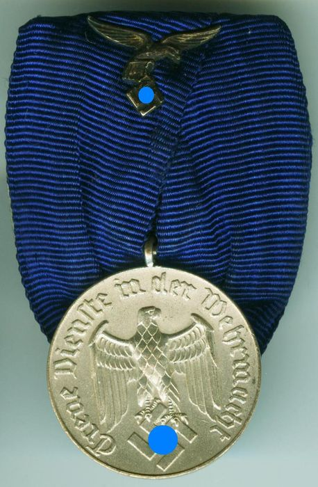 Germany wehrmacht service decoration 4th class for air for Air force decoration