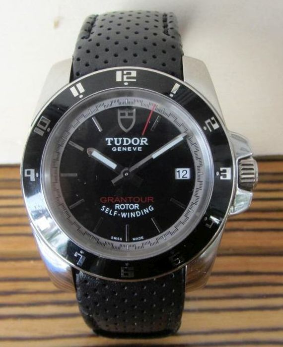 Tudor geneve grantour men 39 s watch unisex date catawiki for Tudor geneve watches