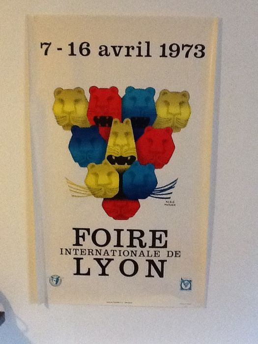 herv morvan 39 foire internationale de lyon 39 1973. Black Bedroom Furniture Sets. Home Design Ideas