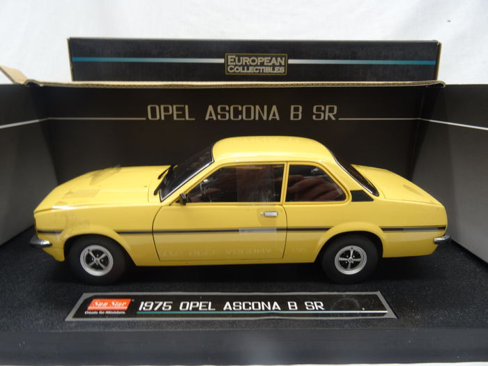 sun star scale 1 18 opel ascona b sr 1975 catawiki. Black Bedroom Furniture Sets. Home Design Ideas