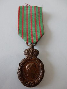 Napoleon - Medal St Helena with a current new ribbon