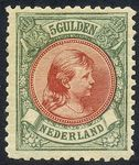 Check out our Netherlands 1896 - Princess Wilhelmina 'Hanging hair' - NVPH 48