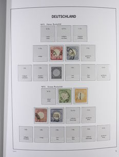 German Empire 1872/1945 - Collection in Davo Luxe album with box