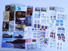 Denmark - Batch of modern stamps with booklets