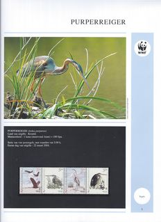 WWF Endangered Animal Species 1986/2005 - Collection in 7 albums