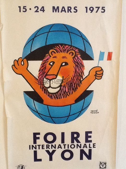 Herv morvan 39 foire internationale de lyon 39 1975 catawiki - Foire internationale de lyon ...