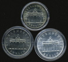 GDR - Three different coins