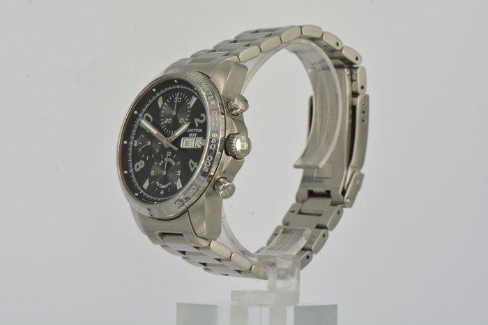 Certina DS Podium Chronograph Herenpolshorloge Jaren 90 ...
