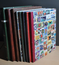 Central and South America - Batch from old to modern in several stock books