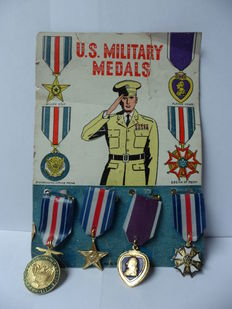 Toy medals US 20th century