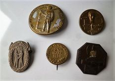 German pins from 1935,36 et 39