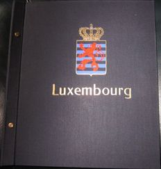 Luxembourg 1852/1989 - Collection in Davo album