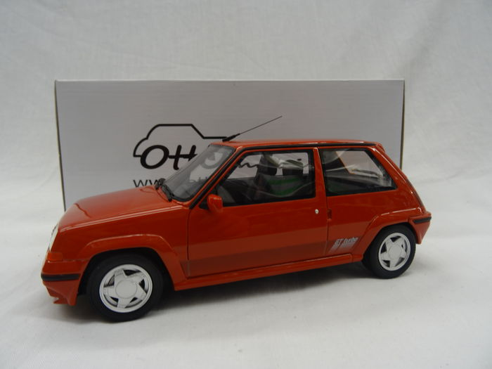 otto mobile scale 1 18 renault 5 gt turbo 705 phase 2 1987 color red catawiki. Black Bedroom Furniture Sets. Home Design Ideas