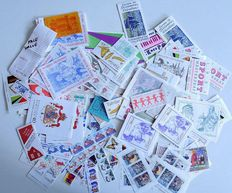 Sweden - Batch of stamps, with booklets and sheets