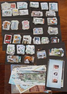 Faeroe Islands 1975/2005 - Collection at least 450 stamps and blocks