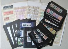 European countries - Batch mixed on stock cards and stock sheets