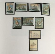 Ships - Thematic collection in 2 KaBe albums