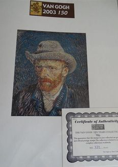 Vincent van Gogh, Art of Painting - Theme collection in 3 special albums + slipcase