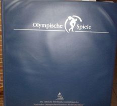 Olympic Games 1994 and 1996 - Theme collection in 2 Borek albums