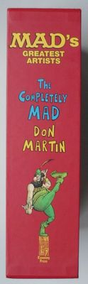 The Completely Mad Don Martin - hc in box - 1e druk heruitgave (2007)