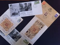 Israel - Batch with about 700 First Day Covers from 1965