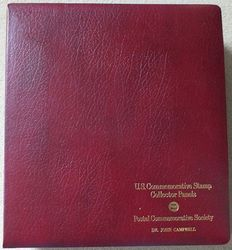 United States 1979/1988 - Collection of US commemorative blocks of 4 or se-tenant blocks  in 3 special albums