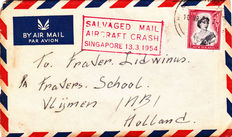 World - Collection 30 Airmail letters and cards including the Netherlands