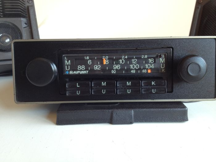 blaupunkt frankfurt car radio with l m k and fm u catawiki. Black Bedroom Furniture Sets. Home Design Ideas