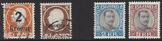 Iceland 1925/1931 - King Frederick VIII and King Christian X - Michel 119, D42 and D60/61