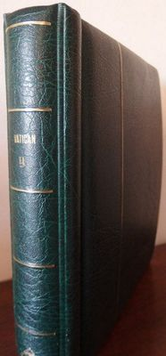 Vatican and Roman States 1852/1953 - Collection in an album Leuchtturm Phare