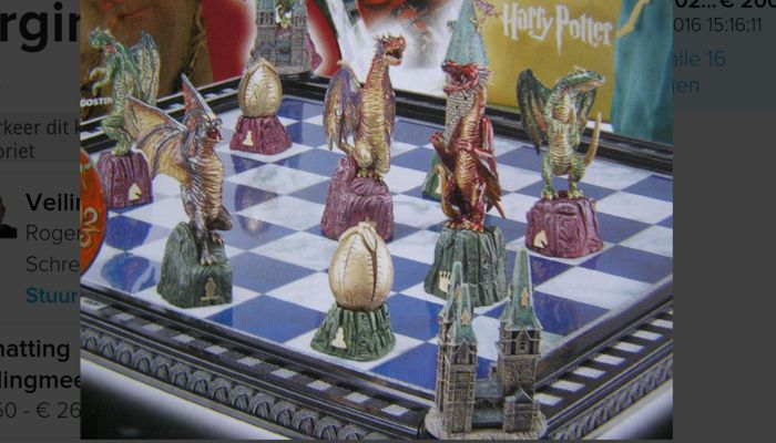 Complete harry potter chess game catawiki for Sejour complet harry potter
