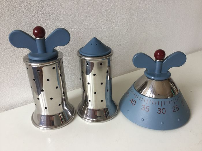 Michael graves for alessi salt and pepper shakers and for Alessi salt and pepper shakers