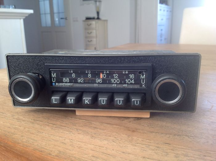 blaupunkt frankfurt oldtimer car radio 1976 catawiki. Black Bedroom Furniture Sets. Home Design Ideas