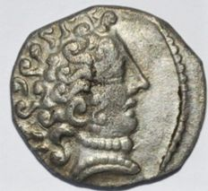 Gallia - Southern. Cenomani Late 2nd-1st centuries BC. AR Drachm
