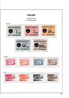 Finland 1941/1979 - Collection in Davo Luxe album
