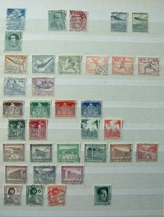 German Empire 1903/1945 - Collection between Michel 603 and 970 + official stamps