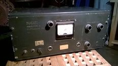 DUCATI meter fluctuation radio frequency tube second war Italy