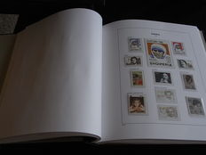 Europa Stamps 1992/1998 - Collection CEPT and followers in Davo album with box