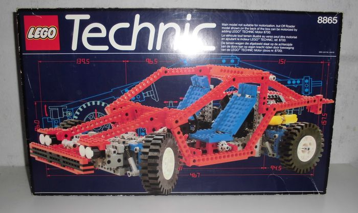 technic 8865 test car catawiki. Black Bedroom Furniture Sets. Home Design Ideas