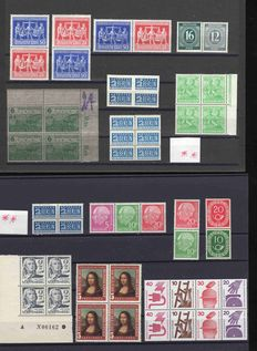 Germany - Bundle from 1945 with special features and somewhat specialized