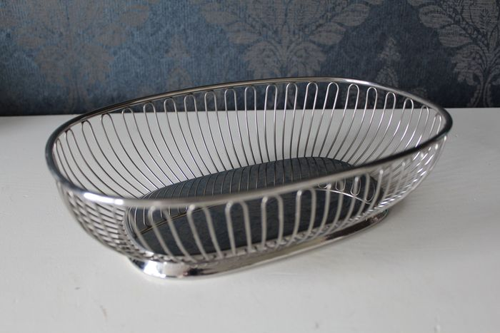 Alessi vs oval wire bread basket fruit basket created by alfra alessi for 1967 catawiki - Alessi fruit basket ...
