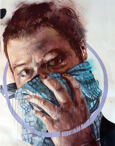 Fintan Magee - Portrait of a stone thrower