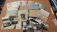 WWII - Lot of about 30 Prisoner of War Army Postal Service to the Saar!