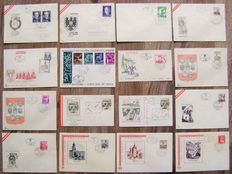 Austria 1953/1993 - Lot of more than 500 FDCs incl. at least 290 different ones