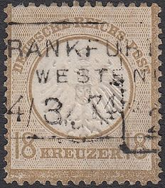 German Reich 1872 - Eagle with small breastplate - Michel 11